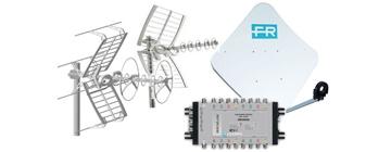 Servizio antenne tv - parabole